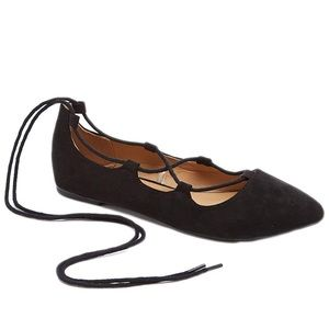 Charles Albert Ghillie Lace Up flats (6)